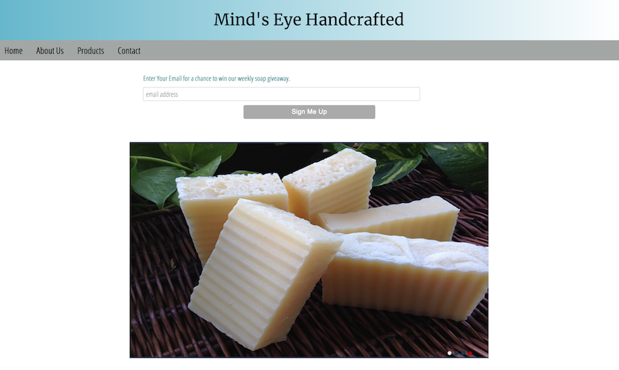 soap company website